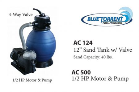 compact sand filter system