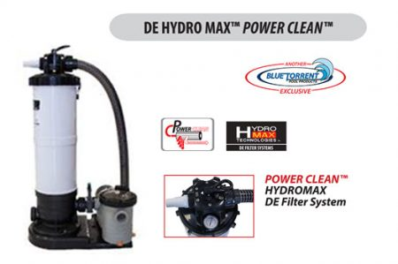 Hydro Max Power Clean DE filters