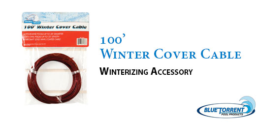 110 Winter Cover Cable Blue Torrent Pool Products