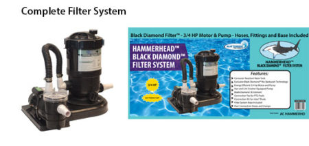 HAMMERHEAD BLACK DIAMOND FILTER SYSTEM