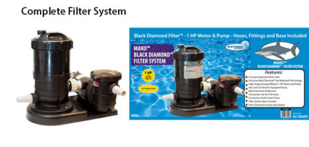 MAKO BLACK DIAMOND FILTER sYSTEM